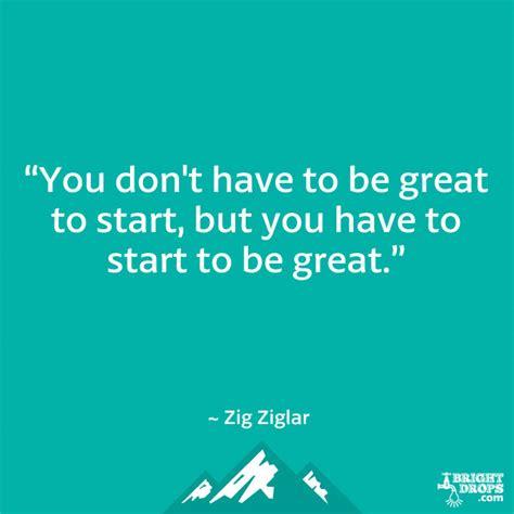 great start quotes quotesgram