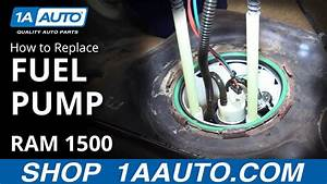 How To Install Replace Fuel Pump 26 Gal  Gas Tank 2008 Dodge Ram 1500 Buy Auto Parts At 1aauto