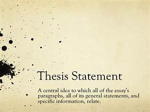 emily dickinson thesis statement