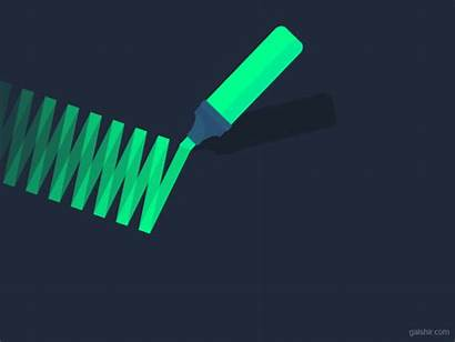 Markers Marker Dribbble Motion
