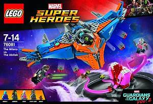 LEGO Guardians of the Galaxy 2 Milano vs. Abilisk Set ...