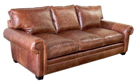 Leather Sleeper Sofa Set by Sedona Lancaster Oversized Seating Leather Sofa Set