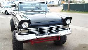 1957 Ford Ranchero 4x4 Frankenstein 4wd Restored