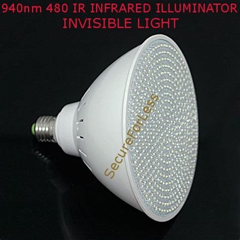 usa seller light bulb 940nm 480 ir infrared illuminator