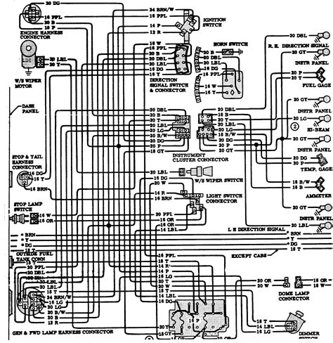 72 Chevy Fuse Box Diagram by Wrg 9159 1976 Chevy Truck Wiring Diagram