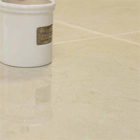 Cream Floor Tiles from Porsixty for Beautiful Bathrooms Ideas