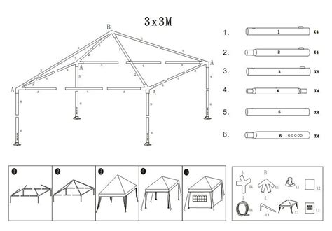strong camel  canopy folding tent gazebo   replacmeent spare parts ebay