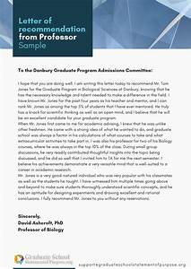 Sample Letter Of Recommendation For Graduate School Professional Help With Graduate School Letter Of