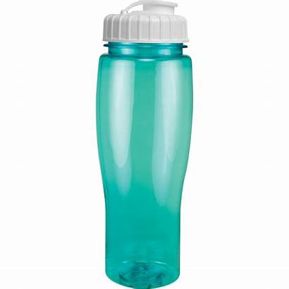 Bottle Translucent Contour Lid Water Bottles Flip
