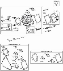 Briggs And Stratton 203400 Parts Diagrams