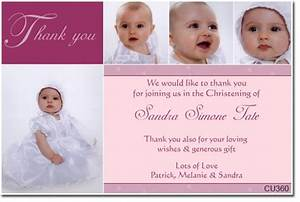 Cu360 christening thank you thank you cards for Baptism thank you card template