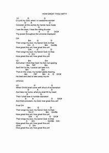 Guitar Chords Chart Free Download How Great Thou Art Chords Printable Pdf Download