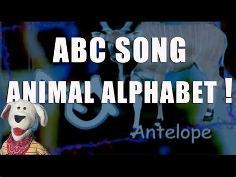 childrens video animal alphabet abc song  children