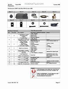 Toyota Scion Fr S System 400 Preparation Oem Audio Plus