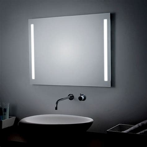 Bathroom Mirror Lights Led by Led Lighted Wall Bathroom Mirror With Front Side Lights Ws