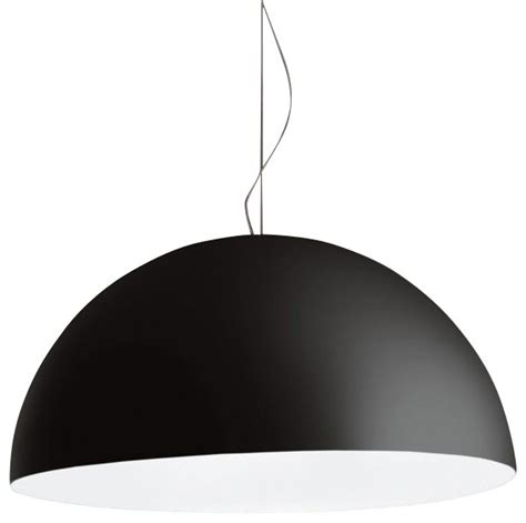 fontanaarte avico pendant black large contemporary