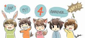 Happy 4th anniversary! by KnotBerry on DeviantArt