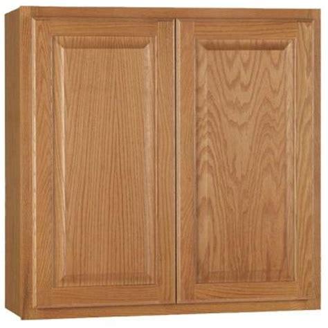 home depot oak kitchen cabinets hton bay 30x30x12 in hton wall cabinet in medium 7142