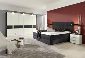Schlafzimmer Set Mit Boxspringbett : neu schlafzimmer mit boxspringbett sch n home ideen ~ Lateststills.com Haus und Dekorationen