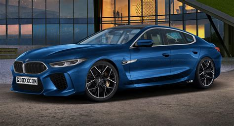bmw  gran coupe puts   production ready blue suit