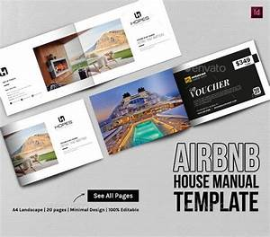 Airbnb House Manual  Guidebook Template In 2020