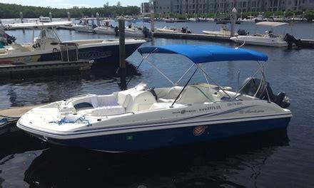 Naples Boat Rentals Groupon boat rental naples family spot groupon