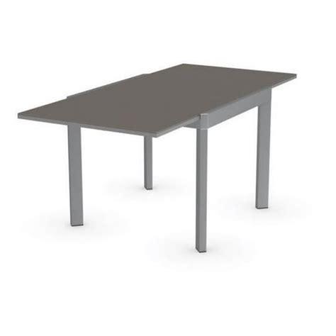 table repas extensible table repas extensible elasto 90x90 de calligaris en verre