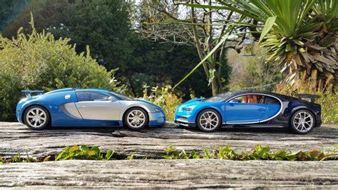 bugatti chiron vs veyron