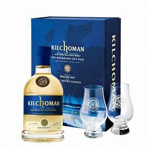 Coffret Whisky Avec Verre : coffret whisky kilchoman single malt machir bay avec 2 verres de d gustation ~ Teatrodelosmanantiales.com Idées de Décoration