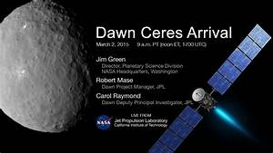 Dawn Ceres Arrival - YouTube