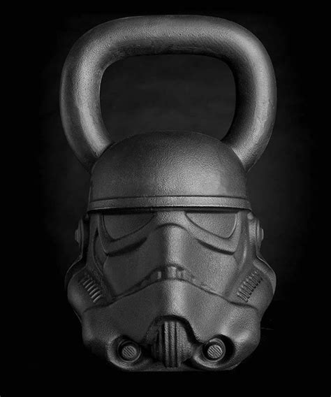 wars star kettlebells kettlebell equipment stormtrooper fitness gear onnit workout pounds weighs gym line popsugar existed knew wanted always never