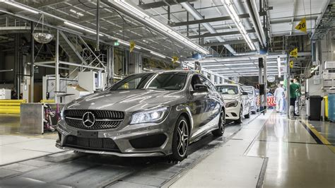 mercedes factory mercedes benz to open second plant at its site in hungary