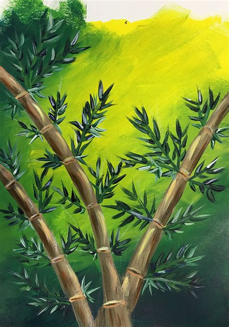 Painting Bamboo (A Paint in the Garden Workshop) - Board ...