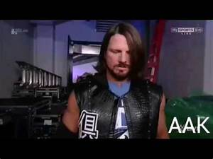 Aj Styles Backstage Interview - YouTube