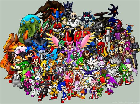 Gallery For Sonic The Hedgehog Characters List With