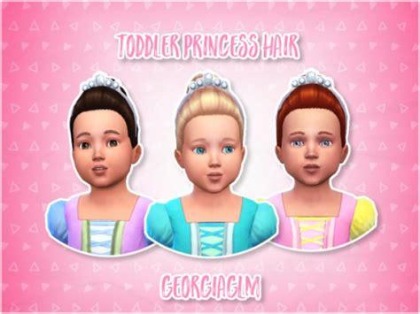 princess haircut sims 4 toddlers cc the sims 4 simsdomination 5819