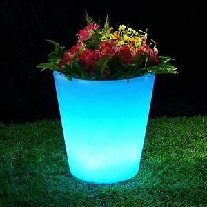 Pot Fleur Lumineux : pot de fleurs lumineux 40 x 38 cm sur grossiste chinois import ~ Nature-et-papiers.com Idées de Décoration