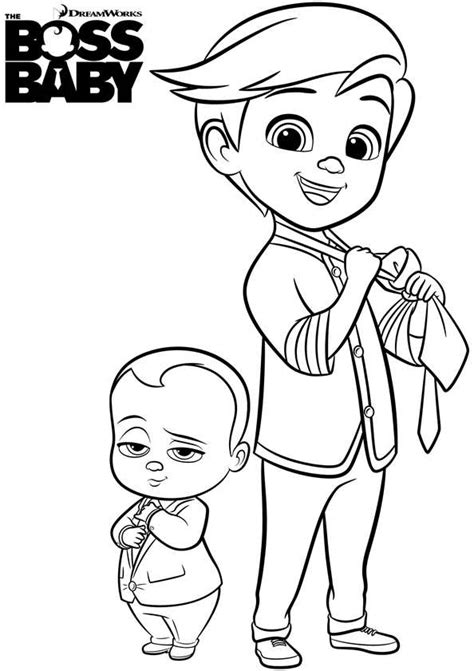 kids  funcom  coloring pages  boss baby