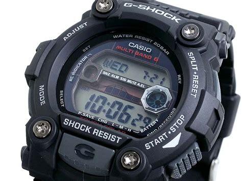 Casio G Shock G 7900 1a Original 楽天市場 g shock ソーラー電波 gshock gショック gw 7900 1a ブラック 黒 メンズ gross