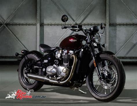 All-new 2017 Triumph Bonneville Bobber