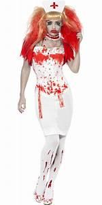Adult Blood Drip Nurse Costume