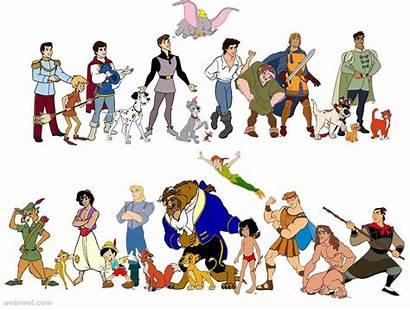 Disney Characters Cartoon Names Animation Movies Clipart