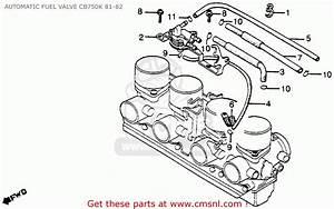 Honda Fuel Valve