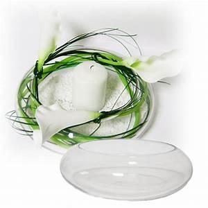 Verre Pour Table : coupe en verre 19 cm pour centre de table mariage ~ Teatrodelosmanantiales.com Idées de Décoration