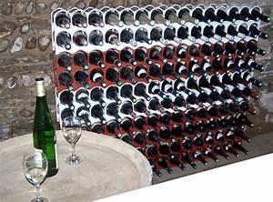 Casier Bouteille De Vin : casier a bouteille design et empilable tranova ~ Teatrodelosmanantiales.com Idées de Décoration