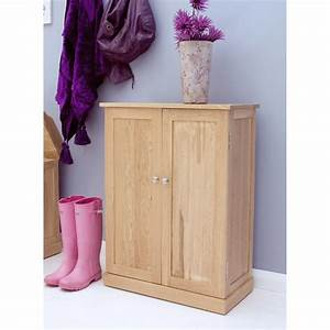 Shoe Storage Cupboard Mobel Oak COR20A