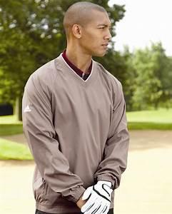 Sport Tek Pullover Size Chart Adidas Golf Men 39 S Climaproof V Neck Wind Shirt