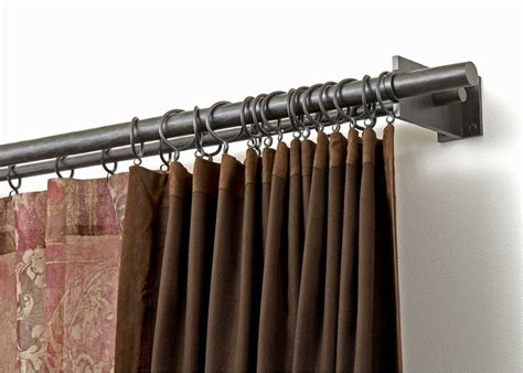 curtains modern living room curtain rod for the home