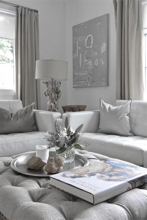 White And Grey Decor - 97 best images about szary salon grey living room on