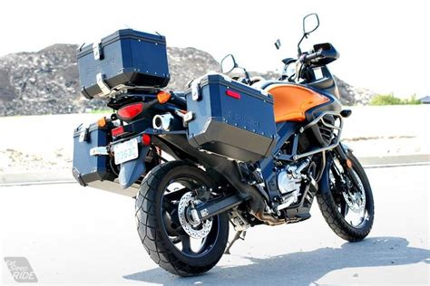 Test Ride 2012 Suzuki V-strom 650 Expedition Abs